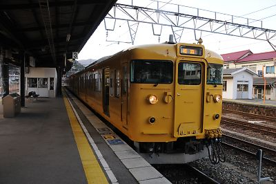 新見発姫路行115系
