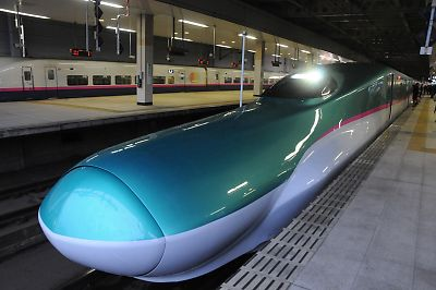 E5系試乗会(仙台駅)
