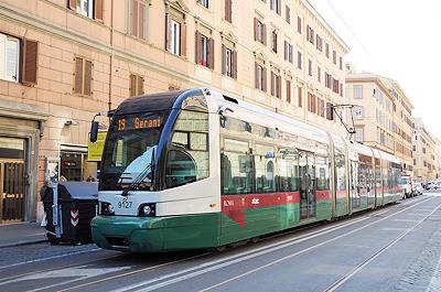 ローマの路面電車