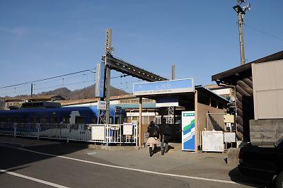 富士急行大月駅