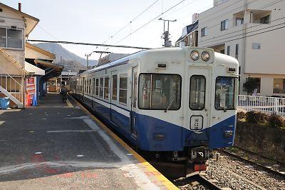 富士急行1200形リバイバルカラー
