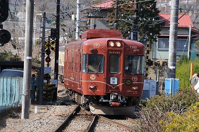 富士登山電車の回送