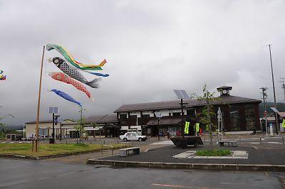 由利高原鉄道・矢島駅