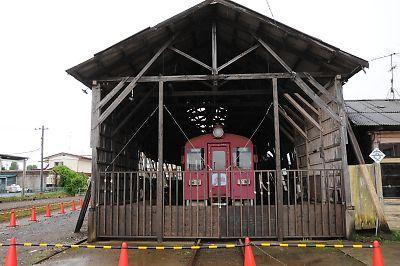 東日本大震災・くりでん保存施設の被害状況