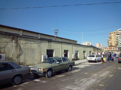 アルバニア/ドゥラス港フェリーターミナル