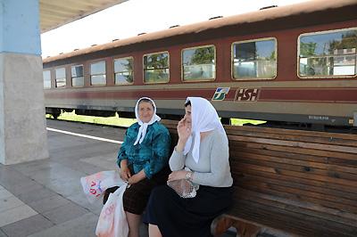 アルバニア国鉄・旧イタリア国鉄客車(ドゥラス駅)