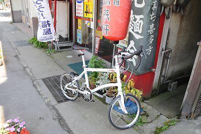 DAHON DASH X20(会津若松~喜多方)