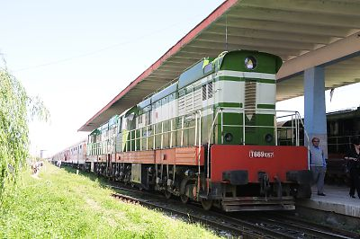 アルバニアの鉄道(ドゥラス→ティラナ)