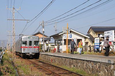 長野電鉄屋代線駅めぐりbyDAHON DASH X20