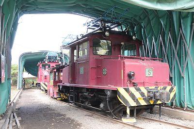 三井三池専用鉄道保存機関車
