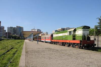 アルバニア鉄道・ティラナ駅