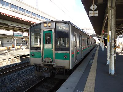 701系(郡山駅)