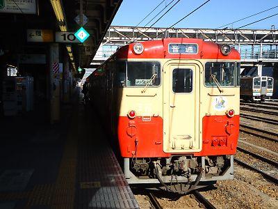 烏山線国鉄色キハ40