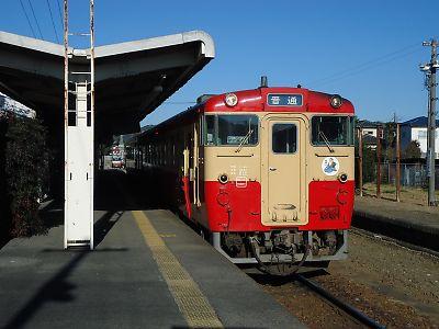 烏山線国鉄キハ40
