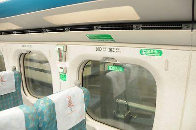台湾高鐵・普通車