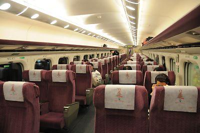 台湾高鐵・商務車