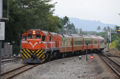 普快車3671列車(台湾/南廻線)