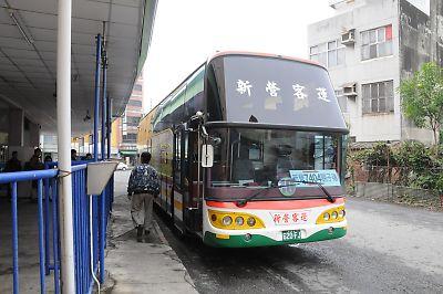 新営⇒烏樹林のバス
