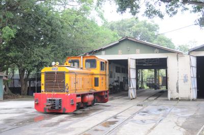 トロッコ列車(烏樹林糖廠)