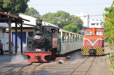 渓湖糖廠の蒸気機関車