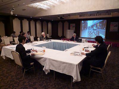 盛岡のまちづくりと都市交通、環境を考える公開討論会