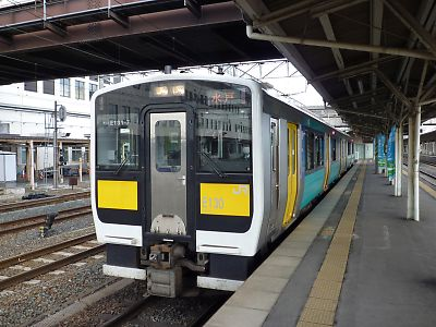キハ130系(郡山駅)