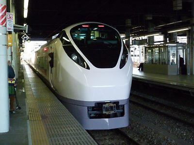 E657試乗会(水戸駅)