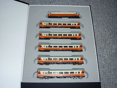電気機関車の莒光号セット
