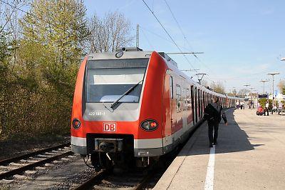 ドイツ鉄道ET425(ミュンヘン郊外)