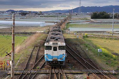 キハ47(池谷駅)