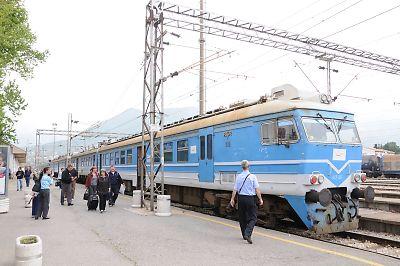 モンテネグロ鉄道412形交流電車