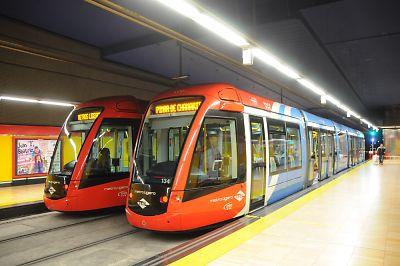 スペイン・マドリッドLRT1号線