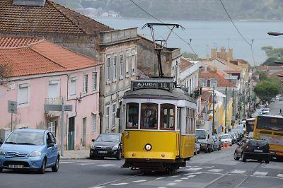 ポルトガル・リスボン市電18系統