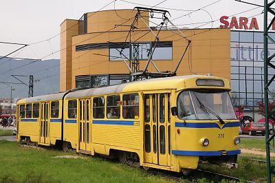 サラエボの路面電車
