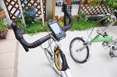 サンワサプライiphone専用自転車ホルダー
