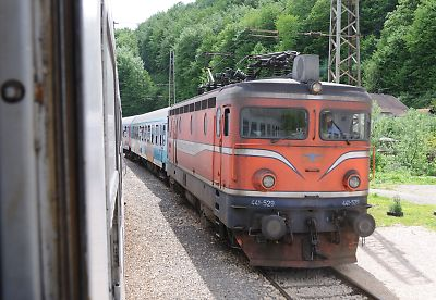 スルプスカ鉄道の441型機関車