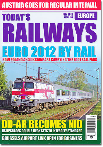 Today's railways Europe 2012/07 No.199