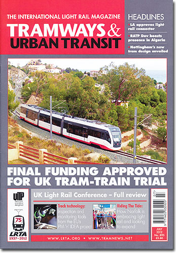 TRAMWAYS&URBANTRANSIT/2012年07月号