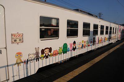 三陸鉄道・北リアス線キャラクター列車