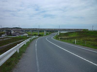 列車代行自転車・仙石線(あおば通り→石巻)