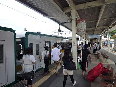 仙石線キハ110(石巻駅)