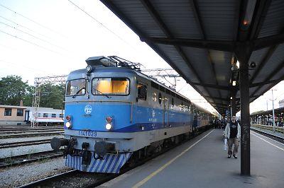 サラエボ発サグレブ行396列車