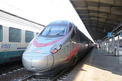 ユーロスター・イタリア(ベネチア・メストレ駅)