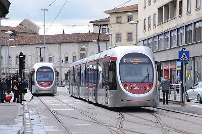 イタリア・リフェンツェのLRT