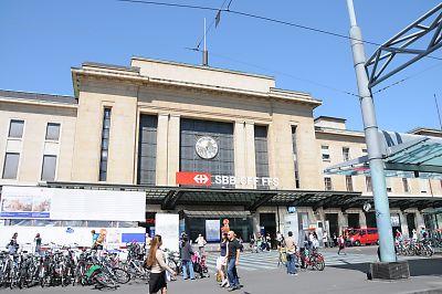 スイス・ジュネーブ・コルナバン駅