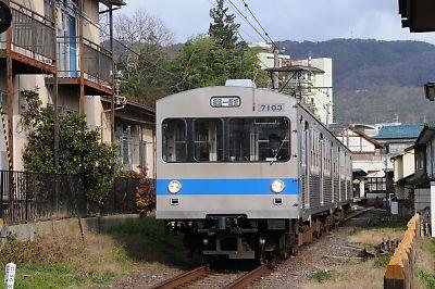 福島交通7000系(花水坂-飯坂温泉)