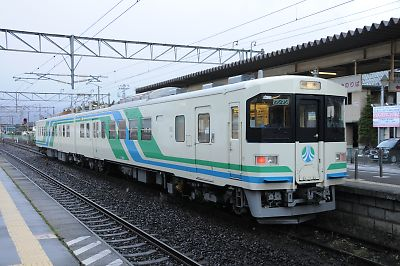 阿武隈急行8100形(槻木駅)