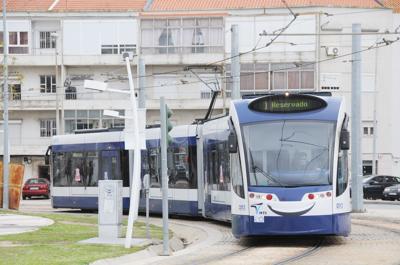 ポルトガル・アルマタのLRT
