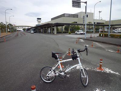 高知龍馬空港から高知駅by DAHON DASH X20