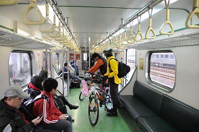 台湾鉄道の自転車持ち込み